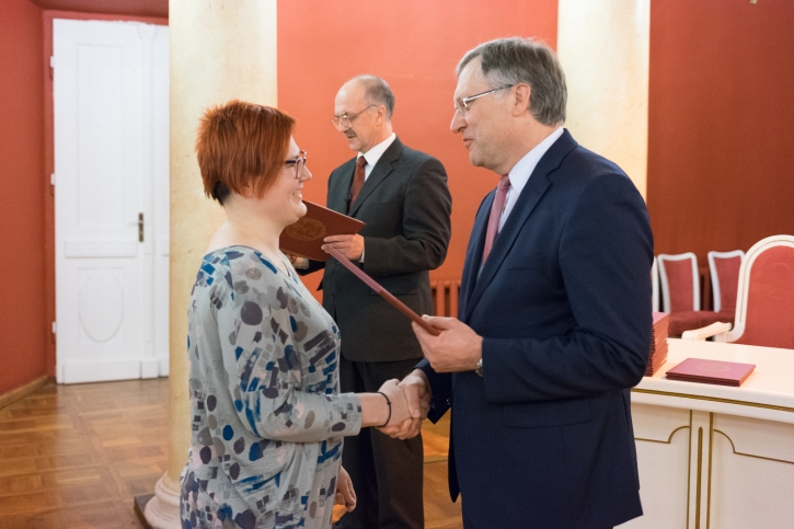 Rektoriaus mokslo premija 2016